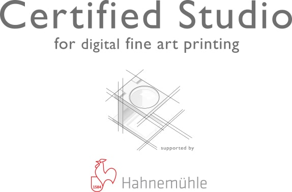 CERTIFIED FOR FINE ART PRINTING byHahnemühle